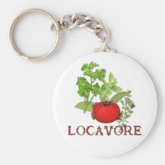 Locavore Keychain