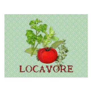 Locavore Postcard