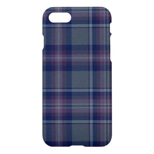 Loch Achnamoine Plaid iPhone 7 Case