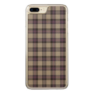 Loch Airigh a' Phuill Plaid Carved iPhone 8 Plus/7 Plus Case