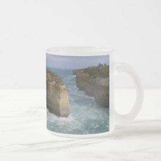 Loch Ard Gorge Frosted Glass Mug