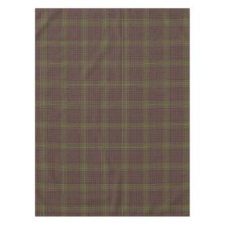 Loch Ardinning Tartan Plaid Tablecloth