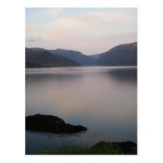 Loch Assynt, Sutherland Postcard