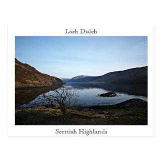 Loch Duich, Scottish... Postcard