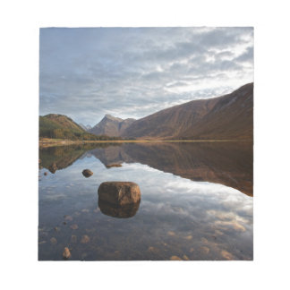 Loch Etive. Glencoe in the scottish Highlands Notepad