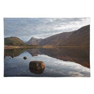 Loch Etive. Glencoe in the scottish Highlands Placemat
