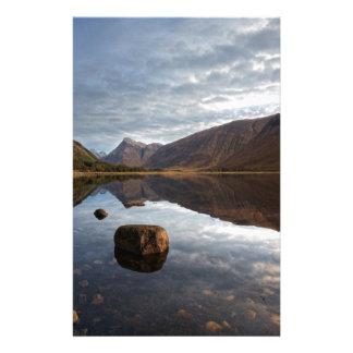 Loch Etive. Glencoe in the scottish Highlands Stationery