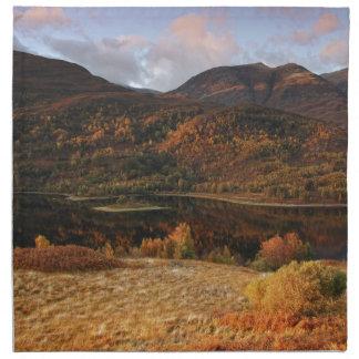 Loch Leven, Glencoe, Scotland Napkin