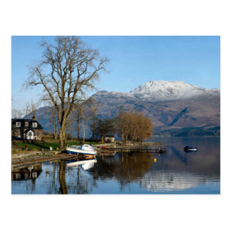 Loch Lomond, central Scotland Postcard