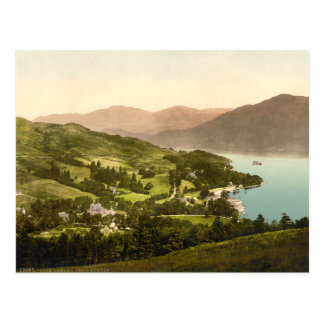 Loch Lomond, Dumbarton, Scotland Postcard