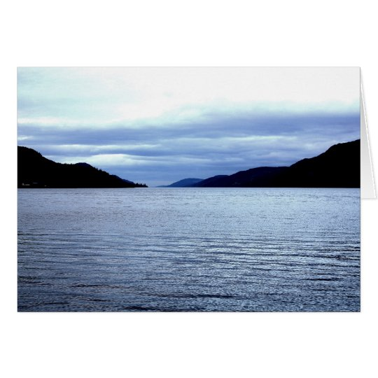 Loch Ness Card