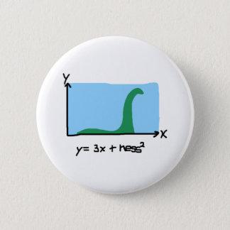 Loch Ness Maths 2 Inch Round Button