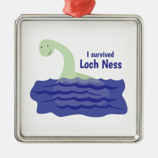 Loch Ness Metal Ornament