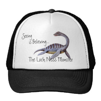 Loch Ness Monster Cap Trucker Hat