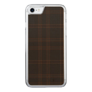 Loch of Aboyne Plaid Carved iPhone 8/7 Case