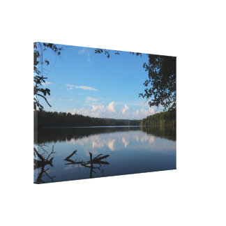 Loch Raven Reservoir Baltimore County, Maryland Canvas Print