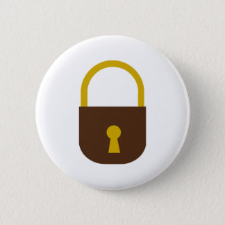 Lock 2 Inch Round Button