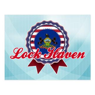 Lock Haven, PA Postcard