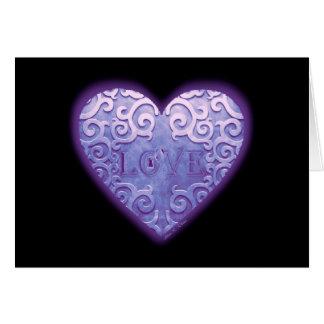 Lock Heart Greeting Card