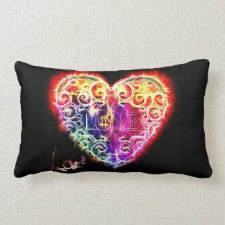 Lock Heart Lumbar Pillow