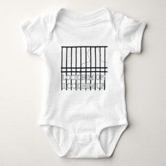 Lock Him Up Behind Bars! Baby Bodysuit