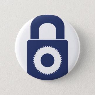 Lock it up 2 inch round button