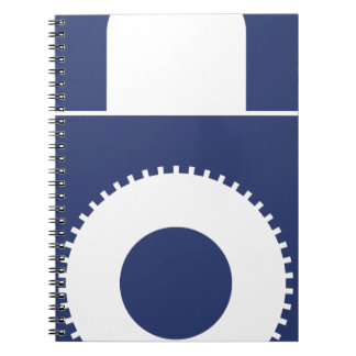 Lock it up spiral notebook