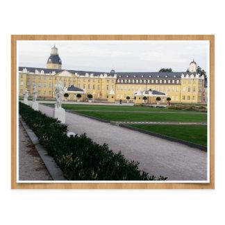 Lock Karlsruhe Postcard