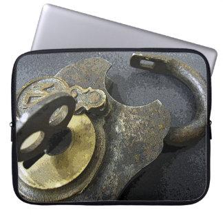 Lock & Key Laptop Sleeve