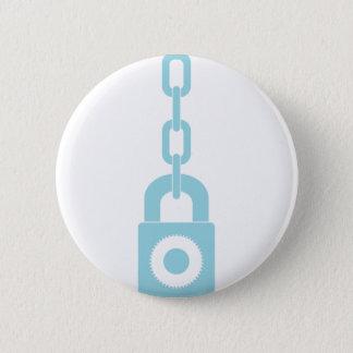 Lock N Chain 2 Inch Round Button