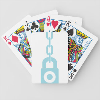 Lock N Chain Bicycle Playing Cards