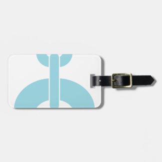 Lock N Chain Luggage Tag
