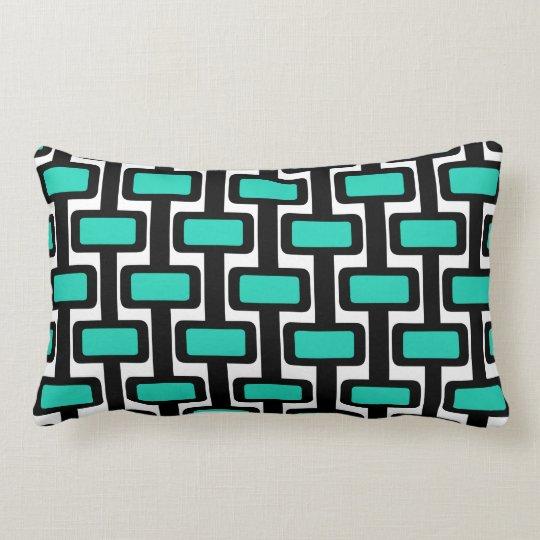 Lock n' Key Black Lumbar Pillow