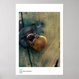 Lock. Poster