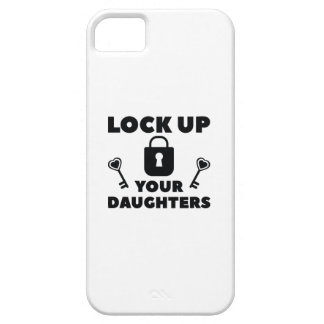 Lock Up You Daughters iPhone 5 Cases