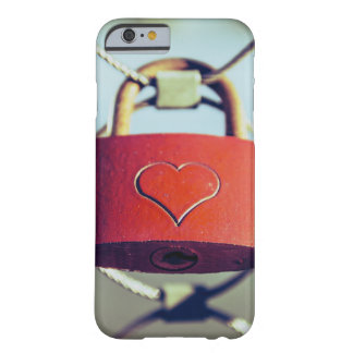 Locked Heart Barely There iPhone 6 Case