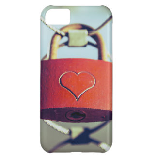 Locked Heart Cover For iPhone 5C