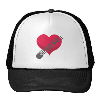 Locked Heart Trucker Hats