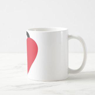 locked heart coffee mugs