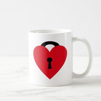 locked heart mugs