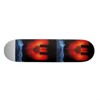 Locked Heart Skateboard