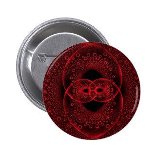 Locked Hearts Black Pin