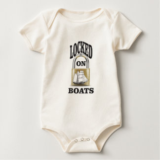 locked on boats yeah baby bodysuit