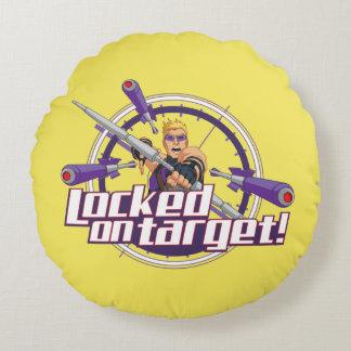 Locked On Target! Round Pillow