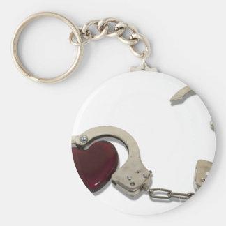 LockedInLove073110 Basic Round Button Keychain
