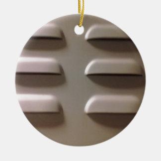 locker door ceramic ornament