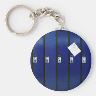 Locker Doors Basic Round Button Keychain