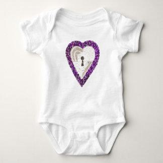 Locker Heart Babygro Baby Bodysuit