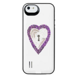 Locker Heart Battery Pack iPhone SE/5/5s Battery Case