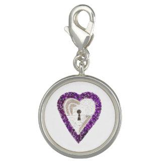 Locker Heart Charm